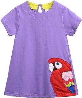 Mr.BaoLong&Miss.GO, Ropa Nueva para niños, Faldas Nuevas para niños de Verano, Vestidos Estampados para niñas, Faldas Cortas para niños