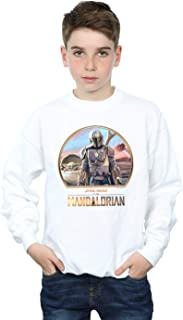 Star Wars Niños The Mandalorian Mando and The Child Camisa De Entrenamiento