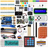 Freenove Ultimate Starter Kit with UNO (Compatible with Arduino IDE) (Blue Board), 273
