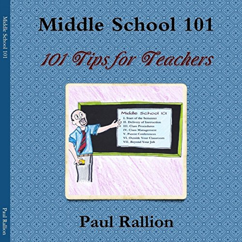 Middle School 101 audiobook cover art