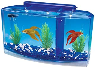 Penn Plax Betta Aquarium Kit Complete with LED Lighting