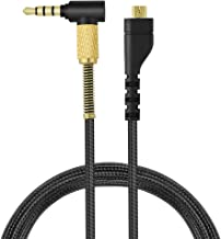 Arctis 7 Cable Replacement Audio Cord Inline Mic and Remote Volume Control Compatible with SteelSeries Arctis 7 Arctis 5 Arctis 3 Arctis Pro Wireless Gaming Headset.