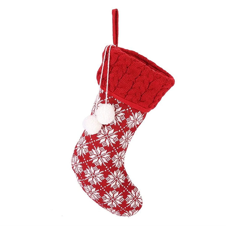 ペレグリネーション枕裕福なSimlugクリスマスギフトストッキング、かわいいクリスマスストッキング靴下装飾品ギフトバッグクリスマスパーティーホームデコレーション(#3)