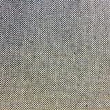 Kt KILOtela Tela de loneta Lisa - Half Panamá 100% algodón - Retal de 100 cm Largo x 280 cm Ancho | Gris Oscuro ― 1 Metro