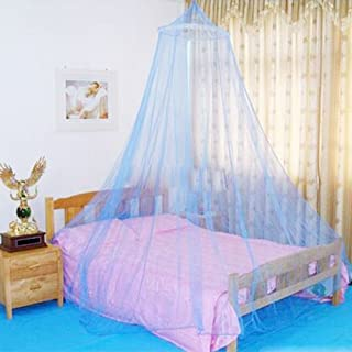 Jumbo Mosquito Net for Bed Suitable for both Indoor and Outdoor Use, Queen Size, Blue