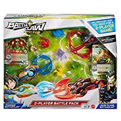 Are you fierce enough to be the beast King? The 2-Player Melee Battle Pack contains all the components two players need to get the Battleclaw action started! Pack includes two Battleclaw Grabbers, 6 cards, 2 Border cards, 5 common Jinlins, one rare J...