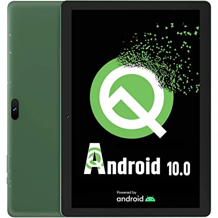 Tablet 10-Inch Android 10.0 - VUCATIMES Tablets 32GB ROM IPS Display Quad-Core Processor WiFi Bluetooth 4.2 Google Certified, Play Store Pre Installed, N10 (Green)