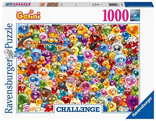 Ravensburger Puzzle 16469 - Ganz viel Gelini - 1000 Teile Puzzle für Erwachsene und Kinder ab 14 Jahren, Kunterbuntes Gelini Puzzle