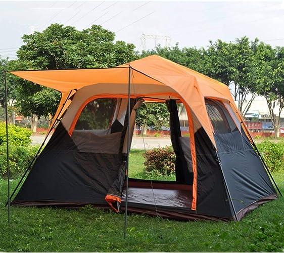 Dswjx Tente Equipement de Camping 4-6 Personnes étanche