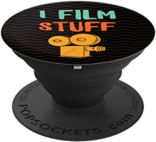Funny Gift for Videographers Photographers Filmmaking Videos - PopSockets Grip and Stand for Phones and Tablets
