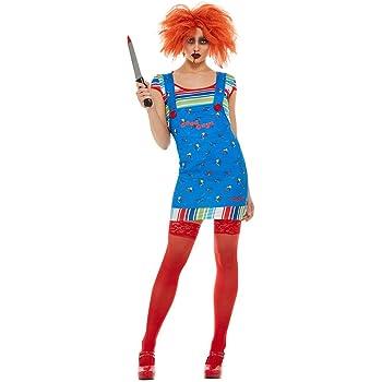DISBACANAL Disfraz Chucky para Mujer - -, M: Amazon.es: Juguetes y ...
