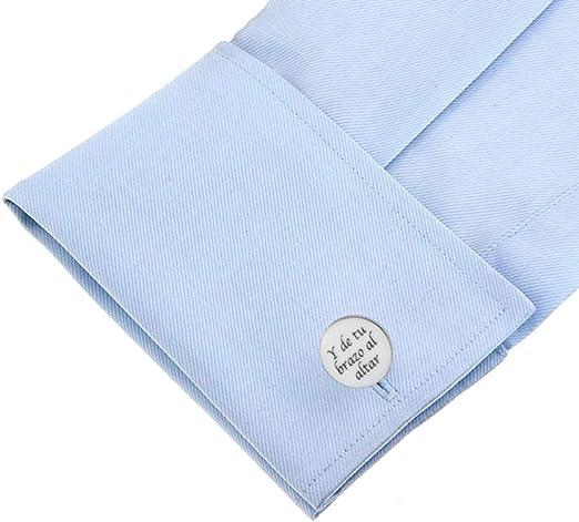 gemelolandia | Gemelos para boda Regalo para el Padrino Cubrebotones Gemelos Originales Para Camisas | Para Hombres y Niños | Regalos Para Bodas, ...