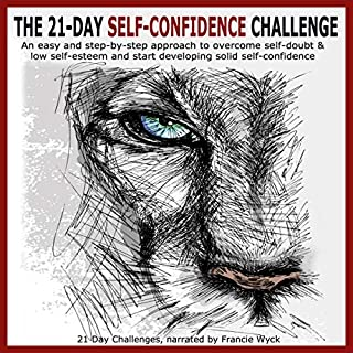 The 21-Day Self-Confidence Challenge audiobook cover art