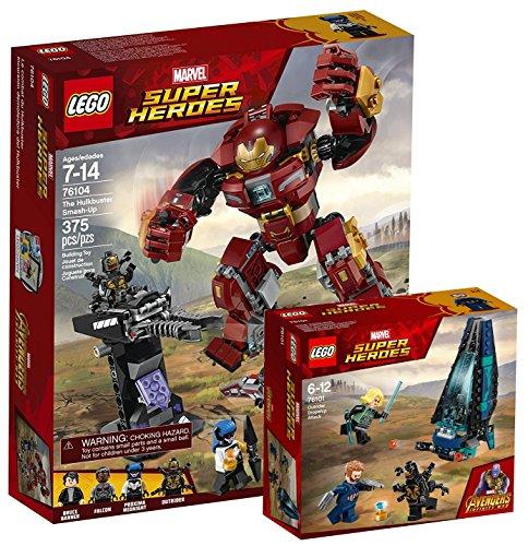 Lego Marvel Super Heroes 76104–Destrucción