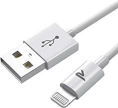 Rampow Câble pour iPhone [Certifié Apple MFi C89] Câble Lightning avec Connecteur Ultra Résistant pour iPhone 13/13 Pro/13...