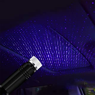 Neborn LED Car Roof Star Night Light Proyector Atmósfera Galaxy Lámpara USB Lámpara Decorativa