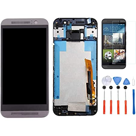 with Tool Kit Black LCD /& Digitizer Assembly for HTC One M9