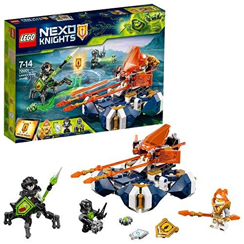 LEGO Nexo Knights 72001 - Juego de Piezas de construcción de Lance con Lanzador, Juguete Infantil