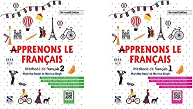 Apprenons Le Francais French Textbook 02: Educational Book & Apprenons Le Francais French Textbook 01: Educational Book (S...