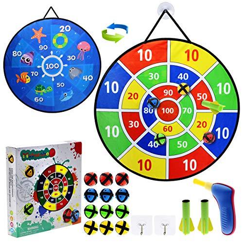 Dart Board for Kids,12 Sticky Balls…
