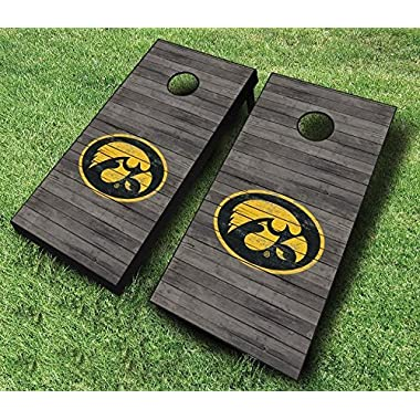 American Cornhole Association Official Cornhole Boards & Bags Set American Flag Design - Heavy Duty Wood Construction - Regulation Size Bean Bag Toss (Regulation Size (4ft x 2ft))