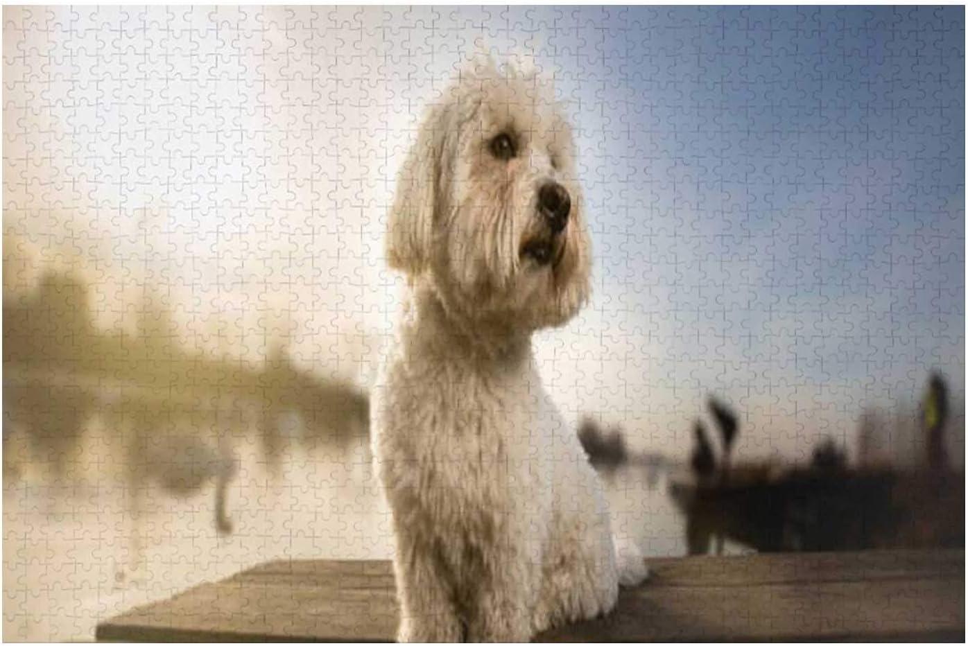 Hitecera Coton Limited price sale de Tulear Portrait Dog for Dock Animal on Puzzle Manufacturer regenerated product