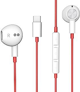 Auricolari USB C, Cuffie In-Ear HiFi Stereo magnetici USB Tipo C Auricolari cablati con microfono e controllo del Volume p.