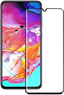 Samsung Galaxy A70 3D Curved Full Coverage With Frame Black Glass Screen Protector For Galaxy A70