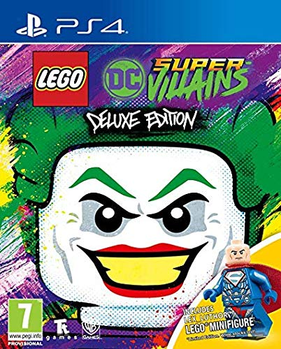 Warner Brothers - LEGO DC Super Villains - Deluxe Minifigure Edition /PS4 (1 GAMES)