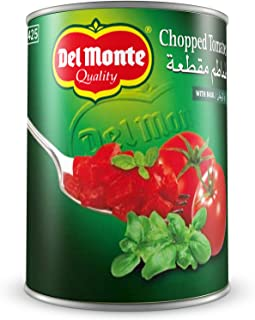 Del Monte Chopped Tomatoes With Basil 400Gms