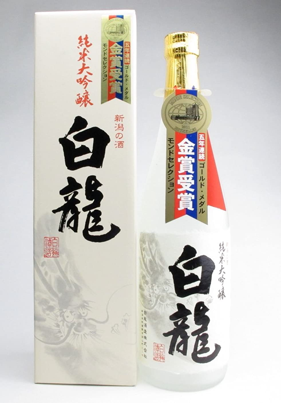 批判的テニス尋ねる【新潟】白龍酒造 純米大吟醸 720ml