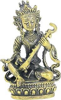 像の富 幸運 置物 ミニ仏家 装飾 贈り物 全7タイプ - サラスバティ