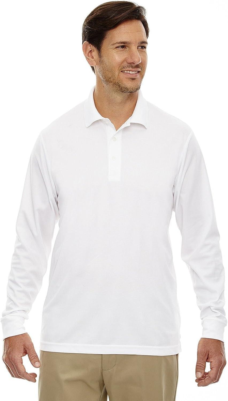 Ash City - Core 365 PinnaclePerformance Long Sleeve Piqué Polos 88192T -WHITE 701 2XL