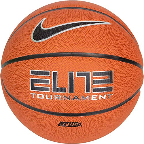 Nike Elite Tournament Basketball (7, Amber/Black)