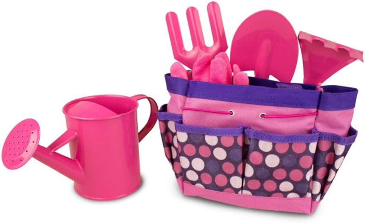 Kids Gardening Denver Mall Tool Manufacturer regenerated product Set Including Watering Glove Can