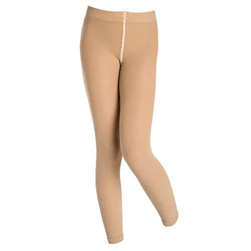 fbcfcfc1c1862 Silky Footless Dance Tights Tan Children and Adults