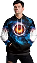 Black Hole Galaxy 3D Printed Hoodies Spring Autumn Unisex Casual Streetwear Sweatshirt