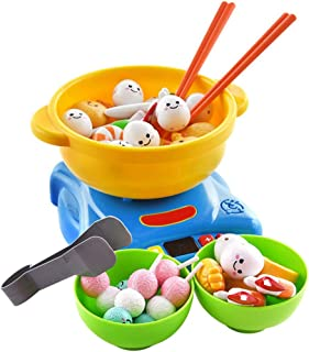 Coxeer 1 Set Pretend Play Toy Creative Kitchen Playing Set Educational Toy for Children