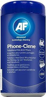 AF International - Nettoyage Complet de Bureau Lingettes - 100 Téléphone-Clene / Hot Lingettes de Bureau