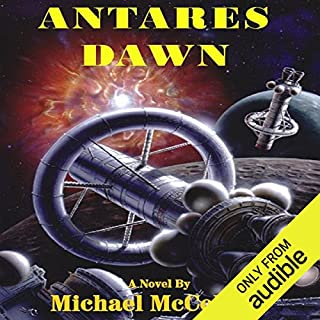 Antares Dawn     Antares, Book 1              By:                                                                                                                                 Michael McCollum                               Narrated by:                                                                                                                                 Gavin Hammon                      Length: 9 hrs and 46 mins     223 ratings     Overall 4.2