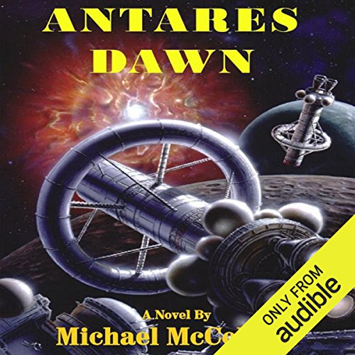 Antares Dawn audiobook cover art