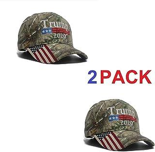a9061899 2 Pack - Make America Great Again Hat, Donald Trump MAGA Cap Adjustable  2020 Keep