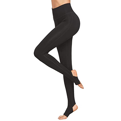 c2bfc6141be55 SweatyRocks Leggings Women Crisscross Stirrup Tights Gym Yoga Workout Pants