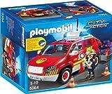 Playmobil 5364 - Brandmeisterfahrzeug mit Licht und Sound -