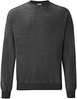 Fruit of the Loom Classic Sweat Felpa Uomo
