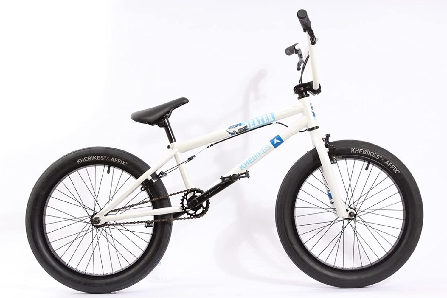 KHE BMX Bike  Beginner  Beater  20  inch Wheels  White