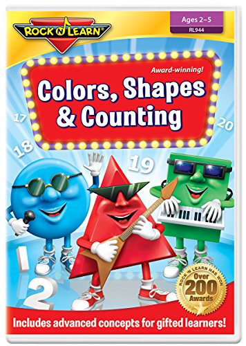 Colors, Shapes & Counting DVD by...
