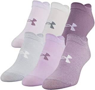 Under Armour Women's Essentials No Show Socks 6 Pairs