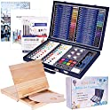 101-Pieces Cool Bank Professional Art Set and 2 Drawing Pads