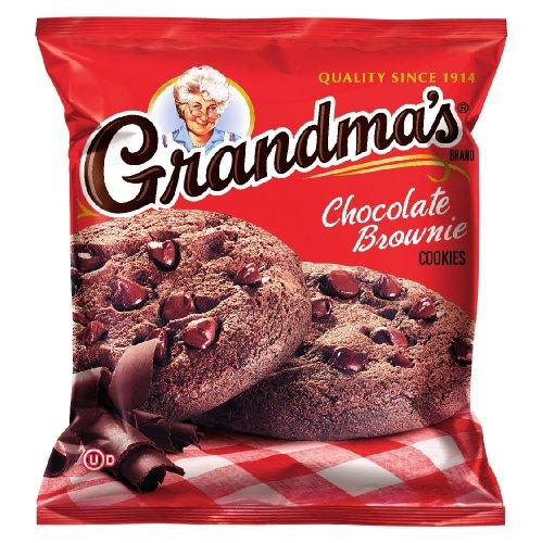 Grandma#039s Chocolate Brownie Cookies 25 Ounce Pack of 60